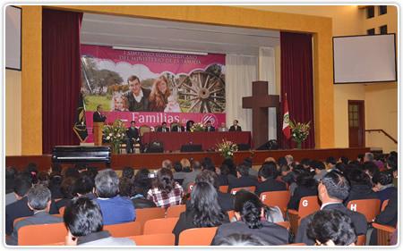 I Simposio Sudamericano de Familia, en la Universidad Peruana Unión