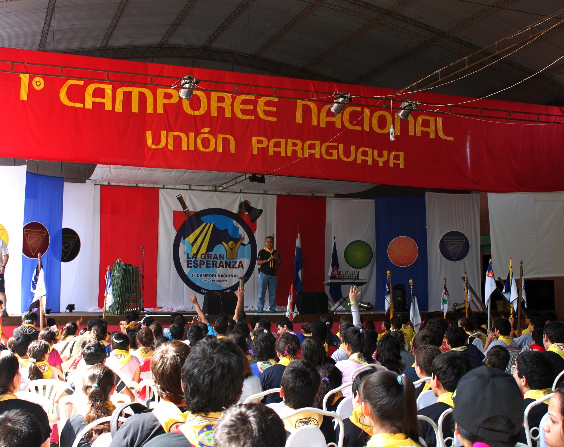 800 conquistadores de todo Paraguay