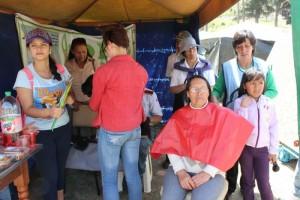 Fueron 46 personas que participaron de esta donación de cabello, a lo niños