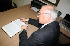 Pastor Bruno Raso, vicepresidente de la Iglesia Adventista y responsable por la coordinación del proyecto en ocho países sudamericanos.