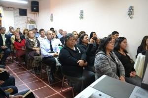 Feligresía del Ministerio Evangélico Adventista, en Chile.