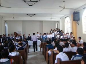 Semana de Énfasis Espiritual en los Colegios Adventistas de la Misión Nor Oriental del Perú.