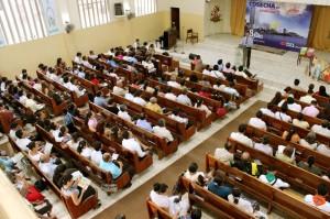 Líderes se capacitan para semana de evangelismo en julio