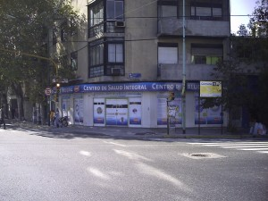 En local estratégico como el centro de Buenos Aires, adventistas se aproximan a la comunidad.