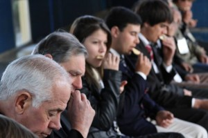 Tesoreros de la iglesia adventista en Uruguay, participaron de cena espiritual.