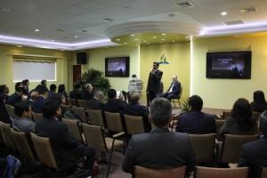 Administradores y directores de la Unión Peruana del Sur, en la Junta Plenaria.