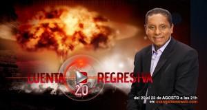 Cuanta Regresiva, es un programa para jóvenes, con  el evangelista, pastor Luís Gonçalves.