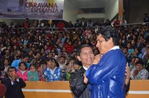Bautismos como resultado de la Caravana de la Esperanza al norte de Perú.