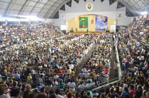 """Participantes de la """"Caravana"""" en Guayaquil."""