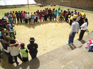 Capacitación para adolescentes en Cuzco, Perú.