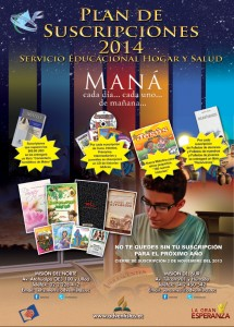 Afiche del proyecto Maná.