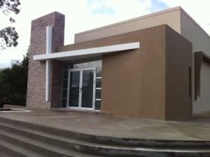 Nueva iglesia en Piriápolis, Uruguay.