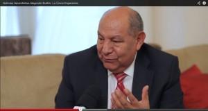 Pastor Alejandro Bullón, evangelista internacional, presenta el libro La única Esperanza.