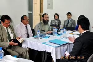 Mesa de diálogo y analisis sobre ley de libertad religiosa.