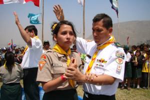 41 adolescentes se unen al club más grande de conquistadores