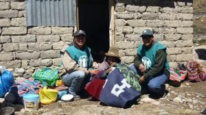 Aproximadamente 500 familias fueron beneficiadas.