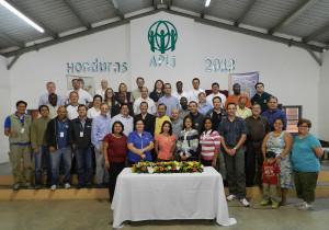 Profesionales participan de capacitación ofrecida por el equipo de ADRA internacional.