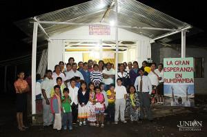 Nueva congregación en Rumipamba, Ecuador.