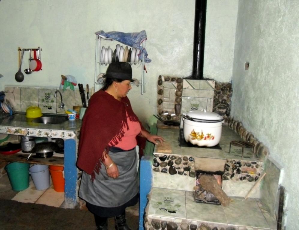 Familias ind genas y mestizas de guano premiadas por mejor for Cocina en familia