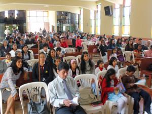 150 bautismos en la semana Joven , Gente como Jesús