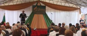 Discurso del Vicepresidente de la Republica en el acto del cincuentenario del Sanatorio Adventista Hohenau.
