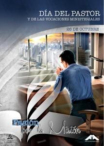 Afiche del 26 de octubre, día del Pastor Adventista.