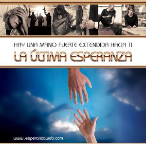 Capa del DVD La Última Esperanza, con el pastor Luís Gonçalves, evangelista para ocho países de Sudamérica.