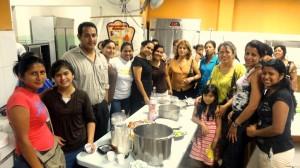 Feligreses de Milagro finalizan curso de cocina vegetariana