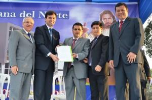 Construcción de la sede adventista en el norte del Perú inicia con acción de gracias2