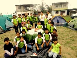 Club de conquistadores Gamaliel del distrito misionero Peninsular con sus guías e instructores.