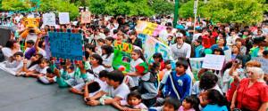 La intención del proyecto fue revalorizar a los niños de todos los sectores.