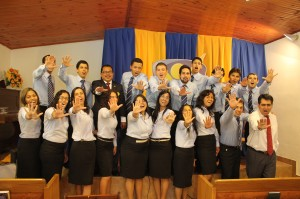 Jóvenes del proyecto Un Año en Misión ya iniciaron sus actividades en Iglesia de Buceo, Montevideo.