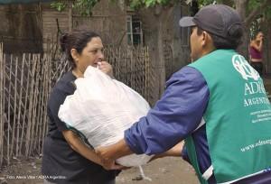 La intervención alcanzó a 240 familias, de San Juan.