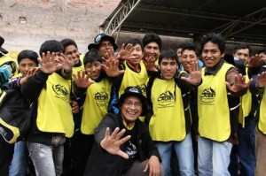 Proyecto Misión Caleb se realiza con 1500 jóvenes, por quinta vez consecutiva, al sur de Perú.