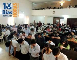 Iglesias del Paraguay reavivadas por los 10 días de oración.