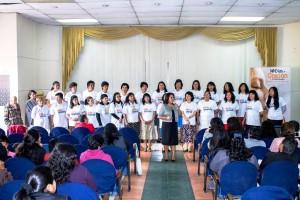 En el Concilio se agradeció a las mujeres del norte de Ecuador por su participación y compromiso en los 10 Días de Oración y 10 Horas de Ayuno.