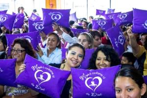 Amigas de esperanza, invitadas a este programa especial; se sintieron contentas por  el seminario.