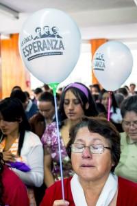 En el encuentro, las mujeres aprovecharon en orar por Impacto Ambato, pidiendo al Señor ser utilizadas por el Poder de Su Espíritu en la predicación del mensaje.