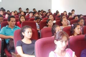 Todos los estudiantes del ITSAE asistieron a esta exposición