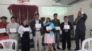 150 nuevos Discípulos del Distrito Tumbaco, se graduaron de la Escuela Bíblica.