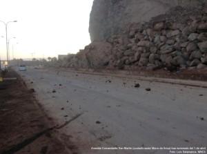 Carreteras colapsaron tras terremoto que azotó el norte de Chile.