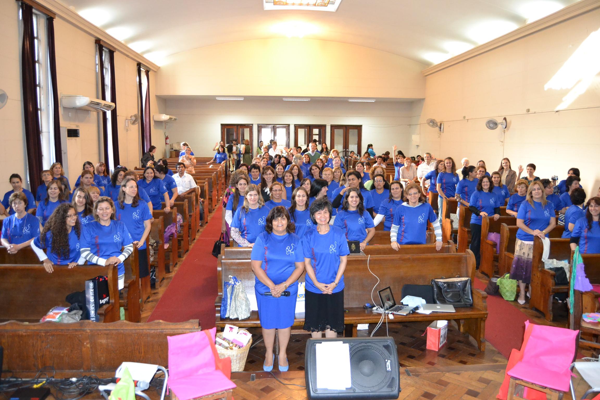 Encuentro de coordinadores y pretimestral iglesia for Mobiliario infantil montevideo