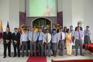 Docentes y administradores del ITSAE fueron presentados durante la ceremonia de inaugración