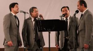 Cuarteto Bethel hizo su presentación en campus universitario.