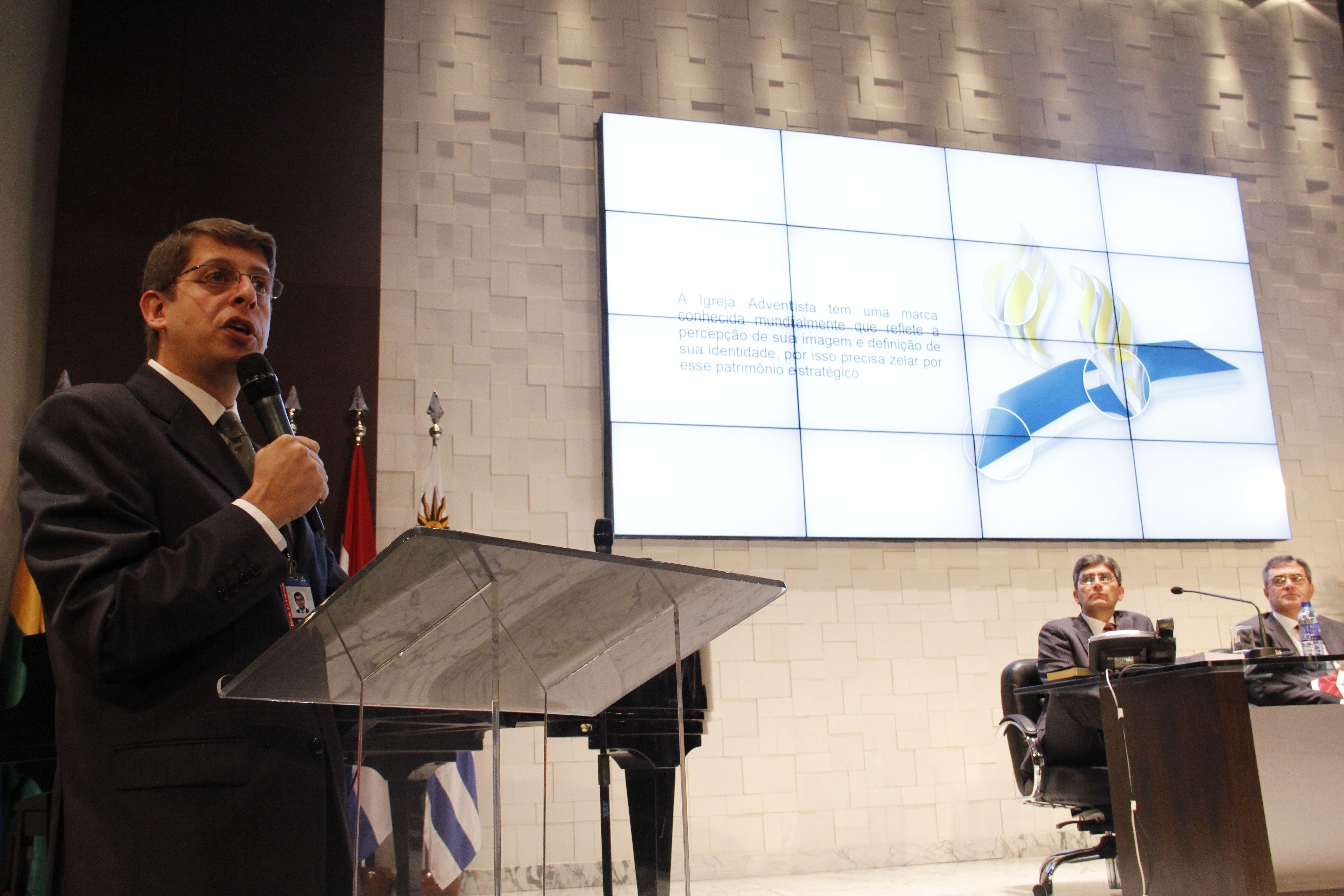 Pr. Rafael Rossi, líder de Comunicación de la Iglesia Adventista para Sudamérica.