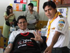 Iniciativa se acentúa en el Día Mundial del Donador de Sangre, celebrado cada 14 de junio.