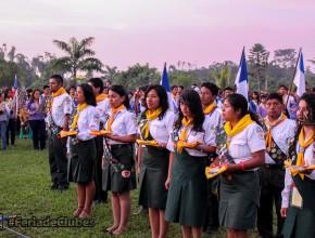 Conquistadores, Calebs y Aventureros, se suman al trabajo misionero que entre Junio y Julio, la iglesia impulsa en la misión del Evangelismo en el norte de Ecuador