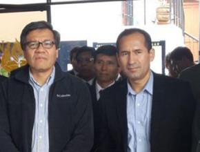 """Pr. Carlos Sánchez, orador internacional de la Caravana """"La única esperanza"""", llegó a Tacna el viernes 20 de junio por la mañana."""