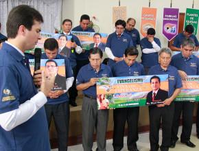 Pastores adventistas aceptan el desafío de dirigir una semana de evangelismo