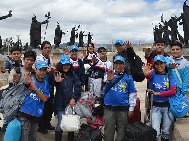 Jóvenes donan sus vacaciones para servir en el norte del Perú